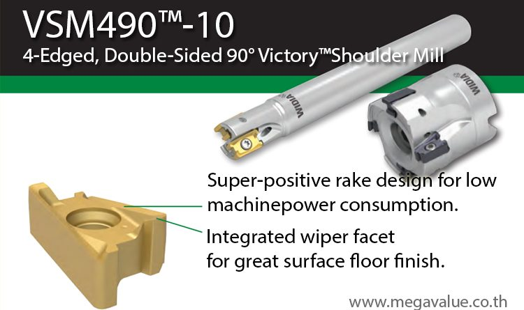 WIDIA vsm490-10 Cutting Tool